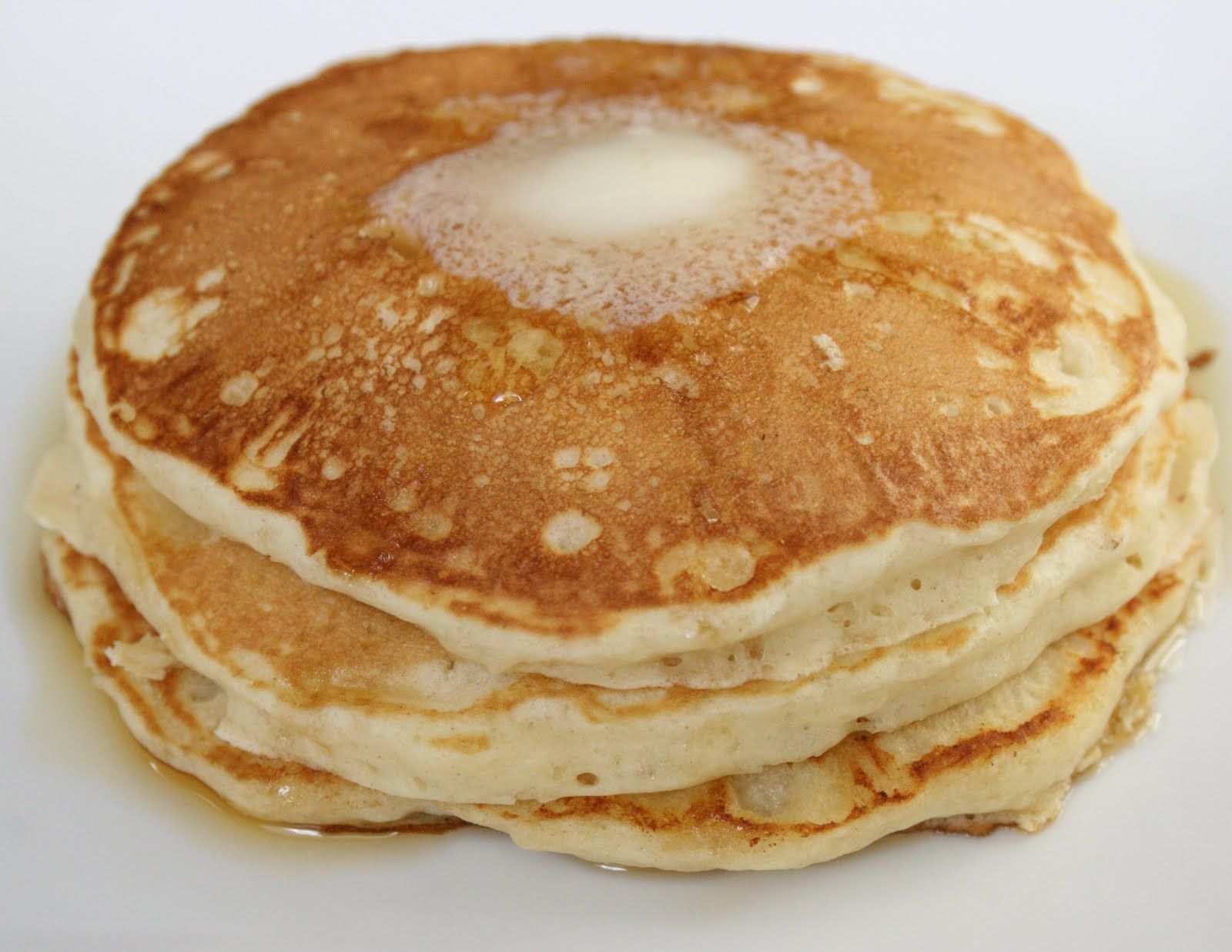 ... pancakes are light, fluffy and delicious. Oh and easy enough for even